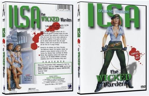 電影 女魔頭Ilsa the Wicked Warden WOMAN 4部曲獨家中文字幕4DVD盒裝